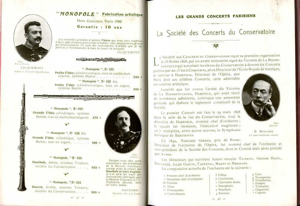 Catalogue Couesnon de 1912.
