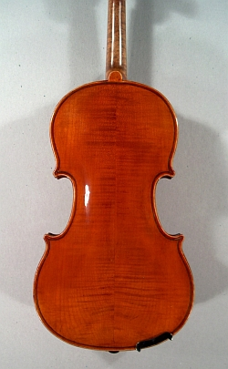 Violon demi copie Stradivarius Laberte. Fond.
