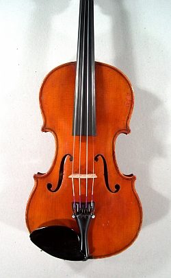 Violon demi copie Stradivarius Laberte. Table.