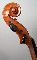 Violon demi copie Stradivarius Laberte. Tête.