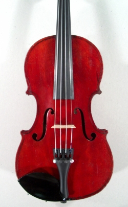 Violon trois-quarts Thibouville. Table.